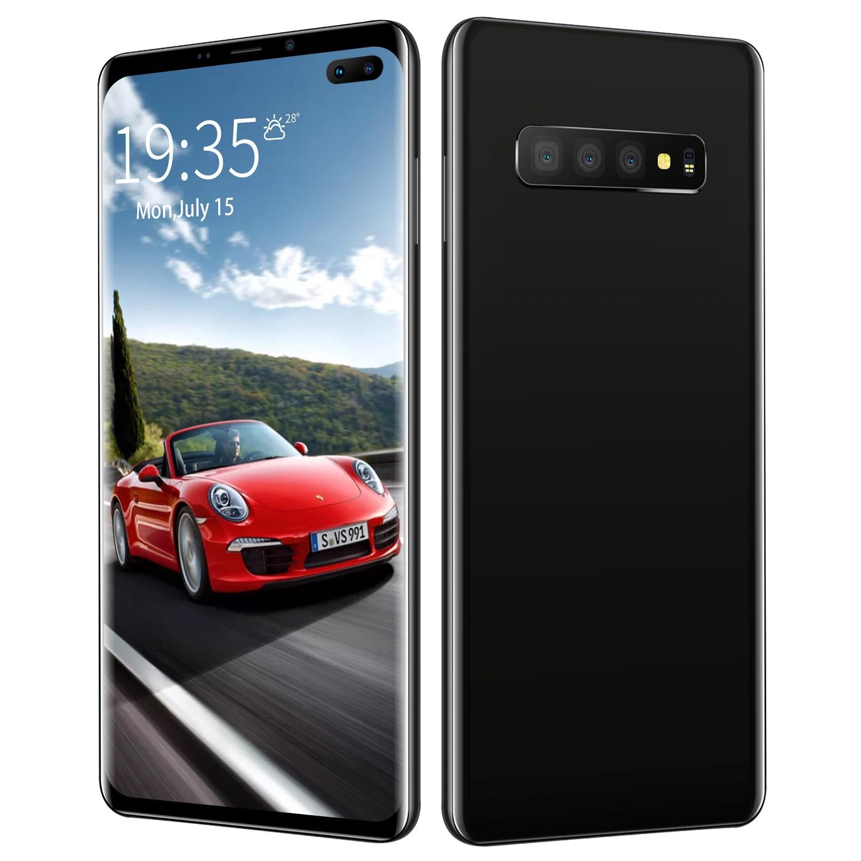 สมาร์ทโฟน S 10 + 6 . 5 นิ้ว Fhd Octa - Core Android Mtk 6580 T 4 G พร้อม 2 Gb Ram 16 Gbom