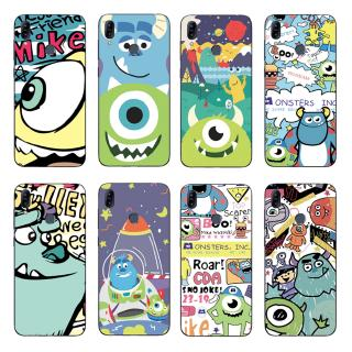 Review Cartoon Monster Back Cover Asus Zenfone Max Pro M2 ZB631KL / ZB633KL Soft TPU Case