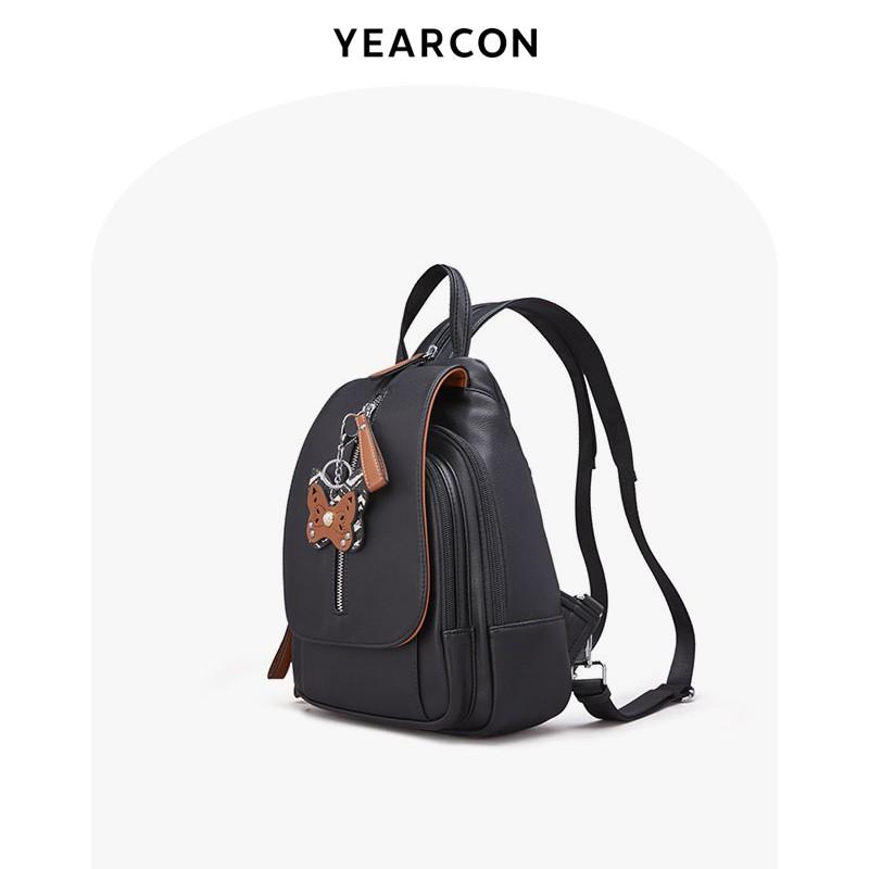 2021 ใหม่สไตล์ร้อนกระเป๋าหญิง Elkang กระเป๋าเป้ฤดูร้อนหญิงป่ากระเป๋าใบเล็กแฟชั่นนักเรียนกระเป๋าเดินทางพักผ่อน