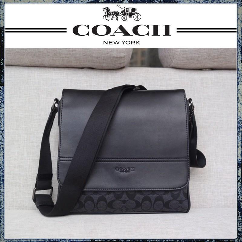 【NO6】coach F73339  กระเป๋าสะพายข้าง  bag กระเป๋าสะพายข้าง  กระเป๋าสะพายไหล่เดียว