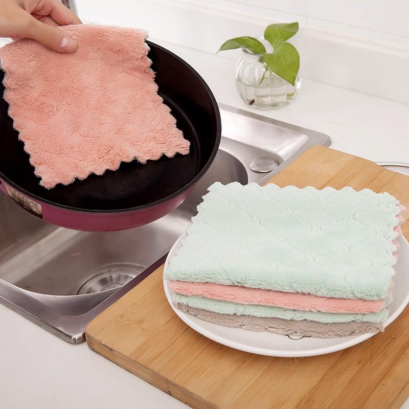 [OUSUWO]ห้องครัวและห้องน้ำมีผ้าเช็ดตัวสองด้าน