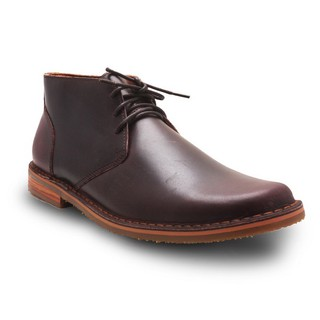 BROWN STONE CHUKKA BOOT STEALTH - OIL LEATHER BRANDY