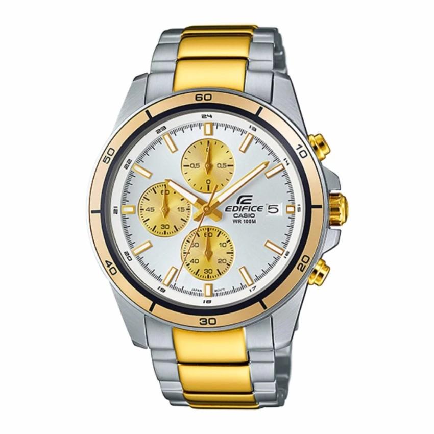 Casio Edifice Chronographนาฬิกาข้อมือชาย สายสแตนเลสEFR-526SG-7A9(Gold)