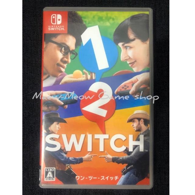1 2 SWITCH (มือสอง✌🏻) แผ่นเกมส์ Nintendo switch