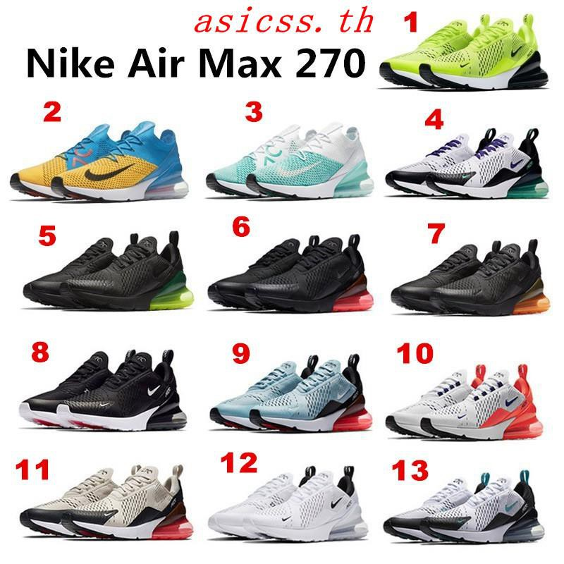 Original Nike Air Max 270 unisex running shoes sport shoes