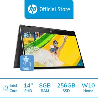 [ผ่อน 0%] HP Pavilion x360 Convertible 14-dw1047TU i3-1115G4 /8GB /256GB SSD /W10 Home /Warranty 2Y