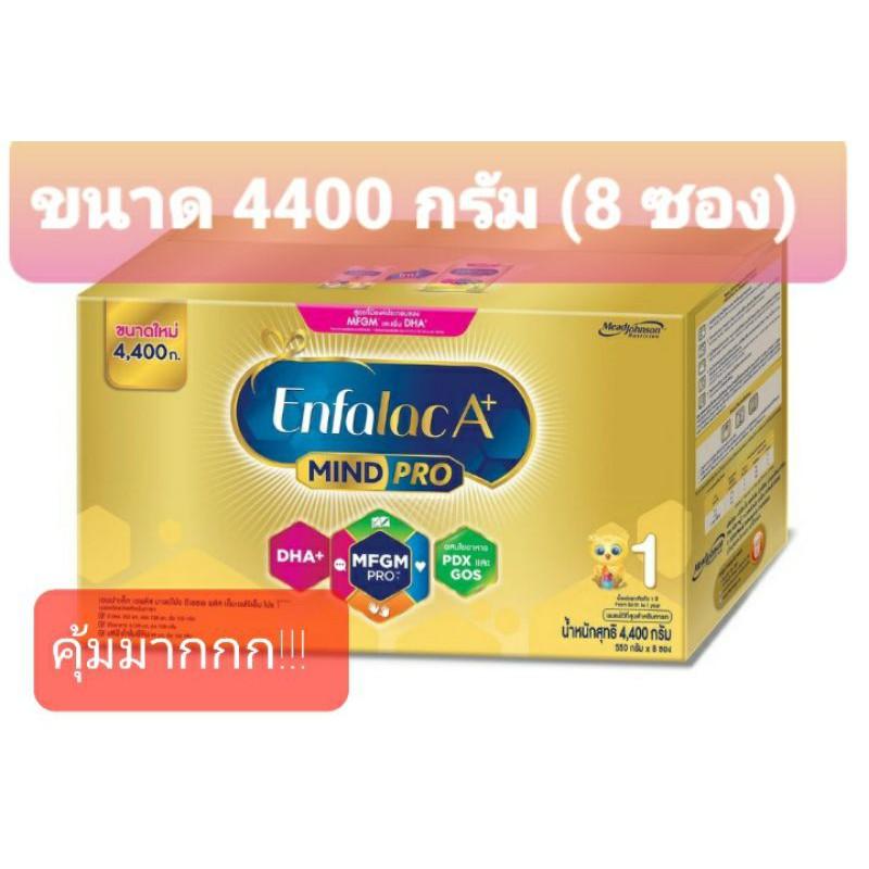 เอนฟาแล็ค A+ สูตร 1#Enfalac A+ สูตร 1 ขนาด 4400 กรัม(1กล่องมี 8 ซอง)