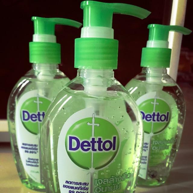 พร้อมส่งเจลล้างมือ Dettol ขนาด 200 ml.
