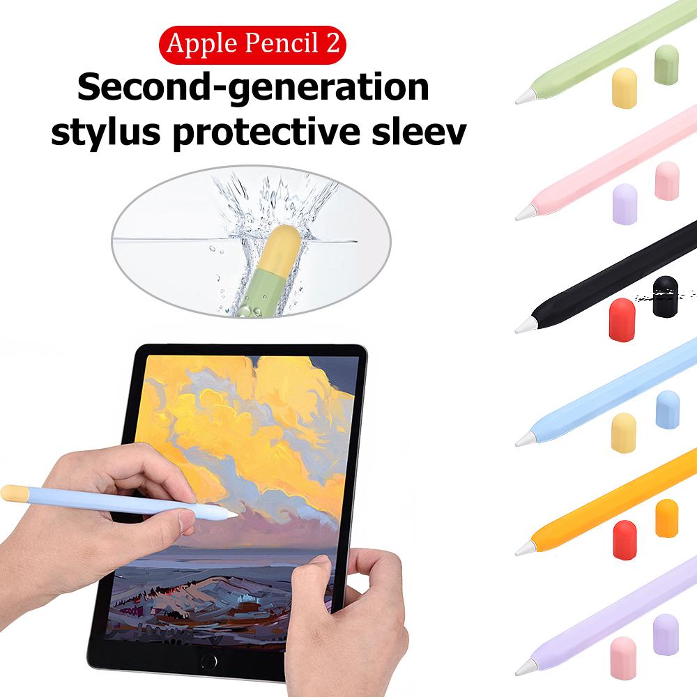 เคสซิลิโคนป้องกันรอยสําหรับ Apple Pencil 2nd Case