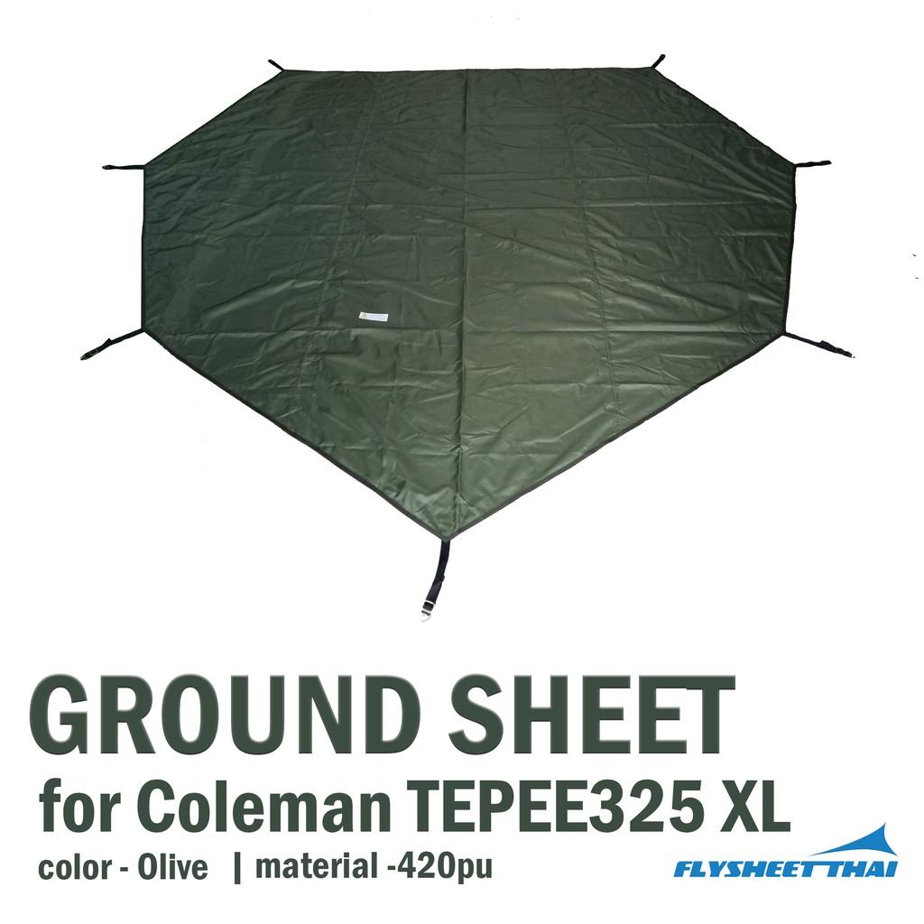 GROUND SHEET FOR COLEMAN TEPEE325 XL   (มีของพร้อมส่ง)
