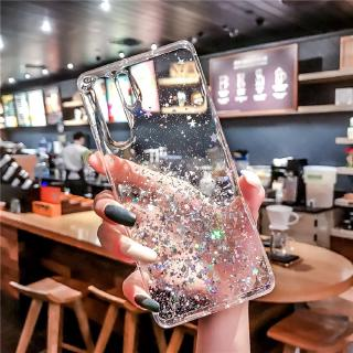 Review Xiaomi Mi CC9 9Lite 9Pro CC9e A3 9T F1 Max2 Mix2 A2 Lite Case Shine Star Glitter Bling Sequins Transparent Case