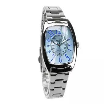 Casio LTP-1208D นาฬิกาข้อมือสตรีแฟชั่นสแควร์  นาฬิกาสายสแตนเลส นาฬิกาเลนส์กันลื่นที่ทนต่อการสึกหรอ นาฬิกากันน้ำสูง นาฬิกาคาสิโอญี่ปุ่น จัดส่งที่รวดเร็ว(พร้อมรับประกัน)