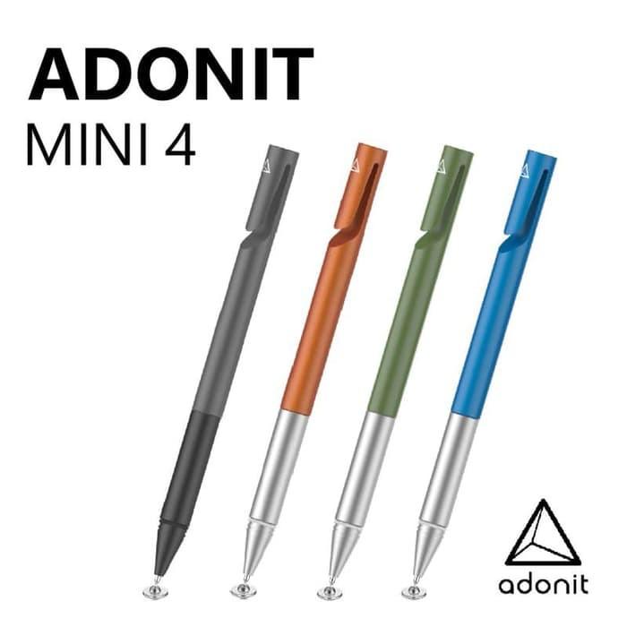 ADONIT JOT MINI 4 STYLUS - DARK GREY ( FOR IOS, ANDROID & WINDOWS)