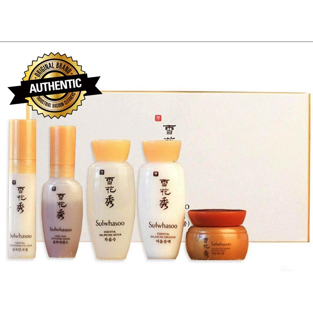 Review #พร้อมส่ง#Sulwhasoo Basic Sample Kit II (5 Items) (Miniature)