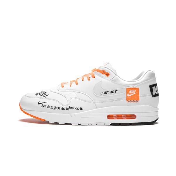 Nike Air Max 1 Se Just Do It Patch รองเท้าผ้าใบลําลองสําหรับผู้ชายเหมาะกับการวิ่ง