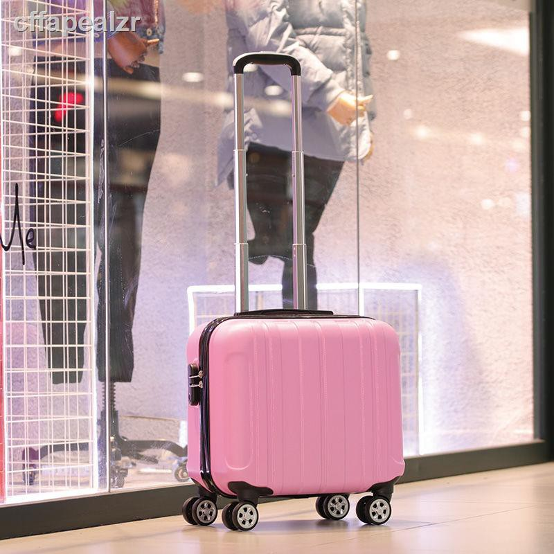 กระเป๋าเดินทางสําหรับเด็กกระเป๋าเดินทางรหัสผ่านสำหรับเด็กกล่องรหัสผ่าน 18 นิ้วกระเป๋าเดินทางล้อสากลรุ่นเกาหลีของกระเป๋า