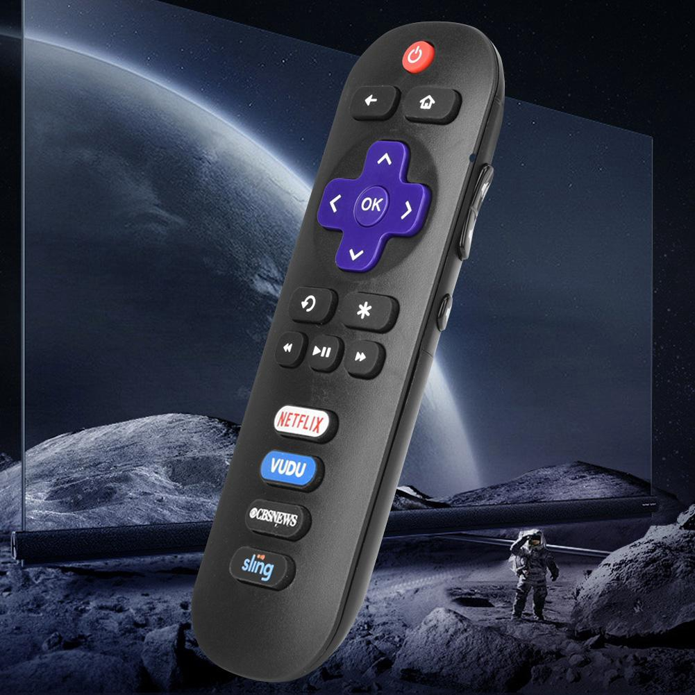 TV Replacement Keys ROKU VUDU Remote for CBS TCL with Controller Control  Universal
