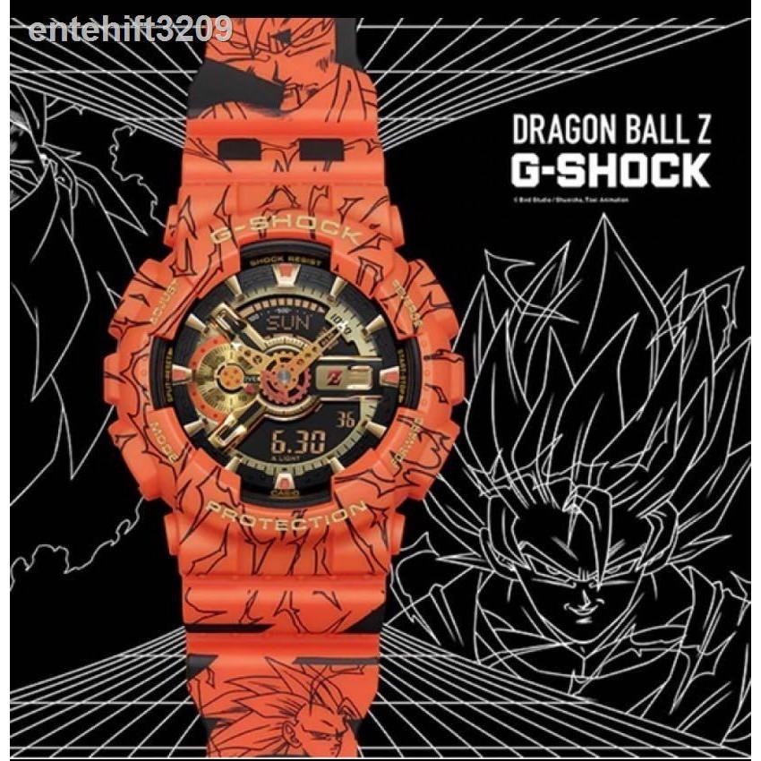 💌no 1👍▬☏CASIO G-SHOCK นาฬิกาข้อมือแฟชั่นในรูแบบ Dragon Ball รุ่น GA-110JOB-1A4 สุดฮิตในปี 2020 หน้าปัด 40mm พร้อมกล่อง
