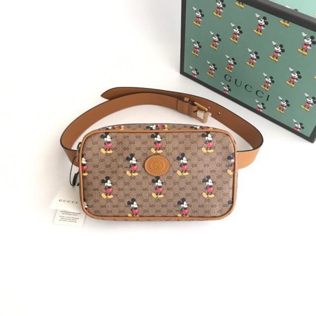 new Gucci x mickey belt bag พร้อมส่ง ของแท้100%