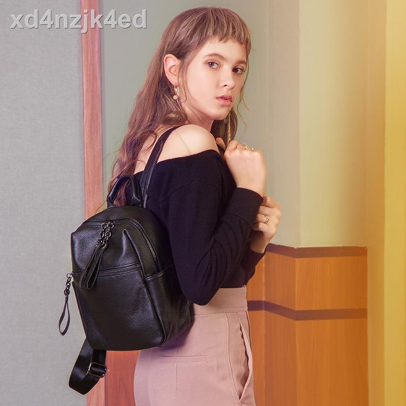 ○☽✘กระเป๋าไฮเอนด์ญี่ปุ่น กระเป๋าผู้หญิง กระเป๋าเป้แฟชั่นหนัง กระเป๋าสะพายข้างใบเล็ก กระเป๋าเดินทางหนัง เป้เดินทาง