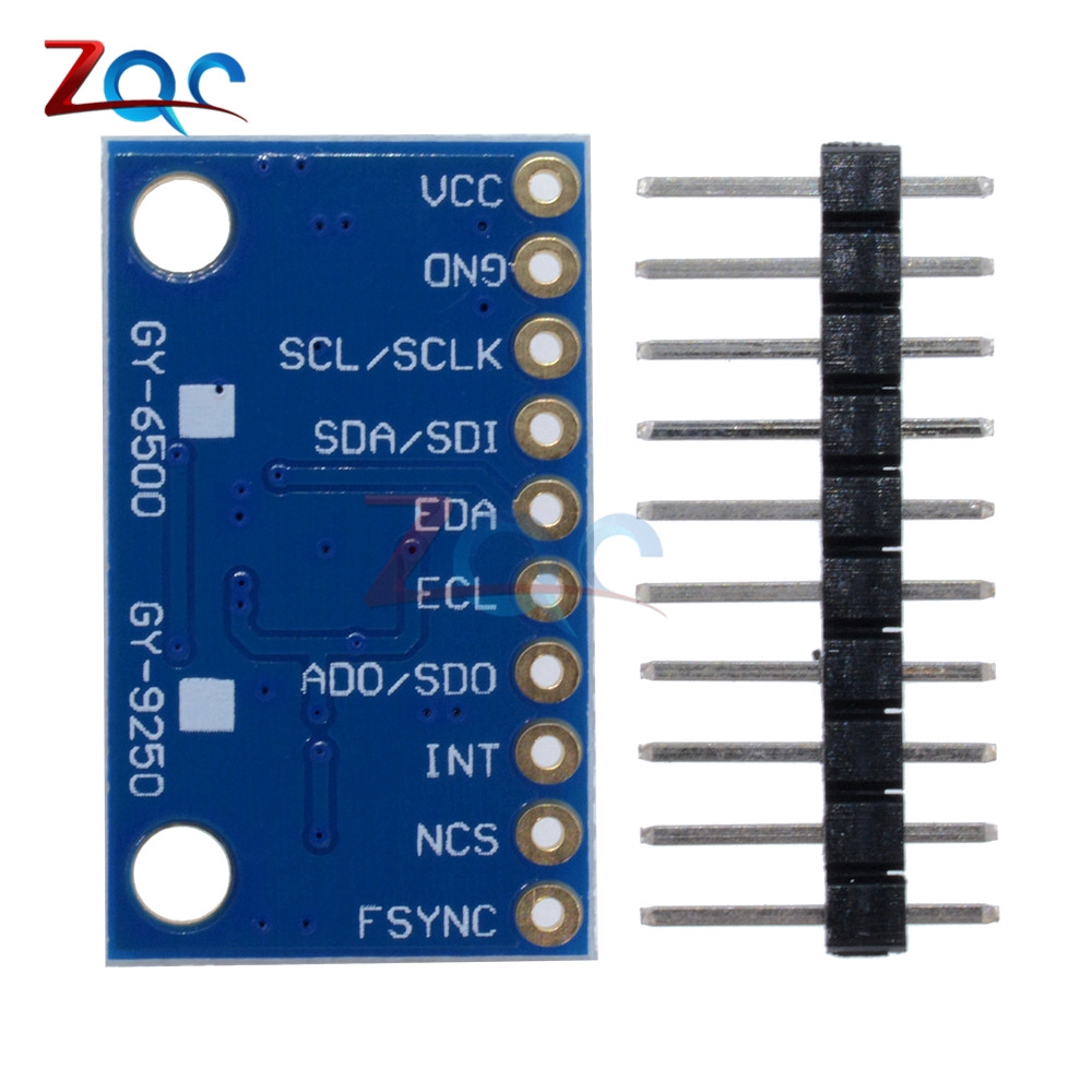 SPI IIC/I2C GY-9250 MPU 9250 MPU-9250 9-Axis Attitude Gyro Accelerator  Magnetometer Sensor Board Module MPU9250 3-5V
