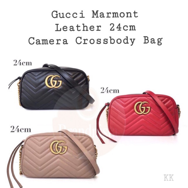 fb462f57064 New!! GG Marmont Camera Bag (18 cm.)