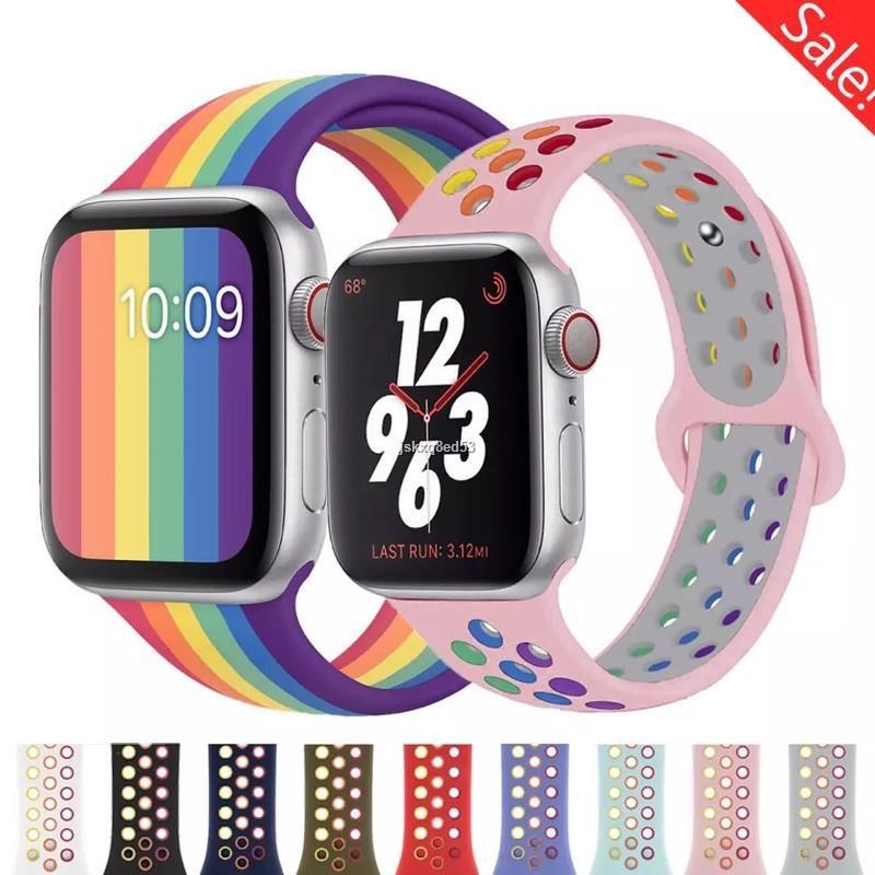 ส่งจากกรุงเทพ❄สายไนก แอปเปิ้ลวอช  Apple Watch Band Series 1 / 2 3 4/ 5/6/SE สาย applewatch