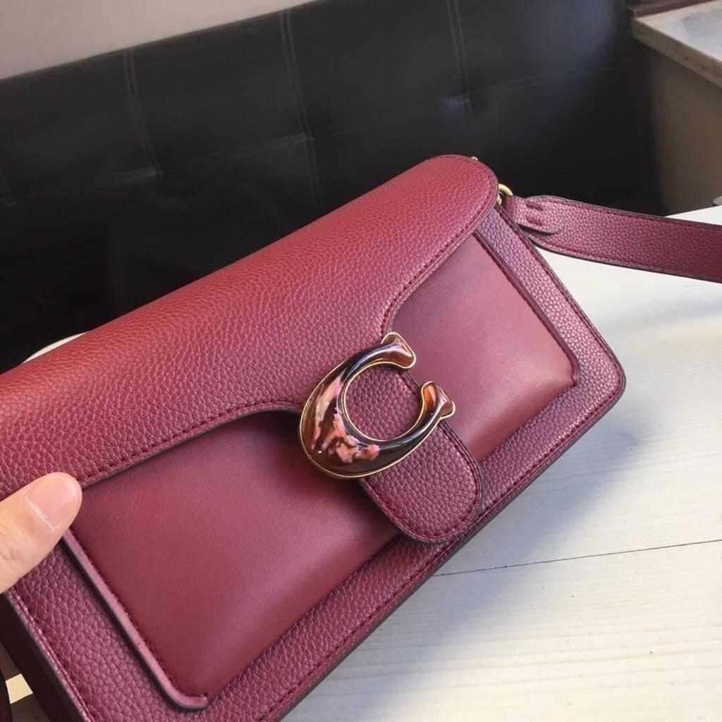 🔥กระเป๋าสะพายข้าง Coach แท้💯 (พร้อมส่ง) ส่งฟรี Coach tabby convenience shoulder bag crossbody