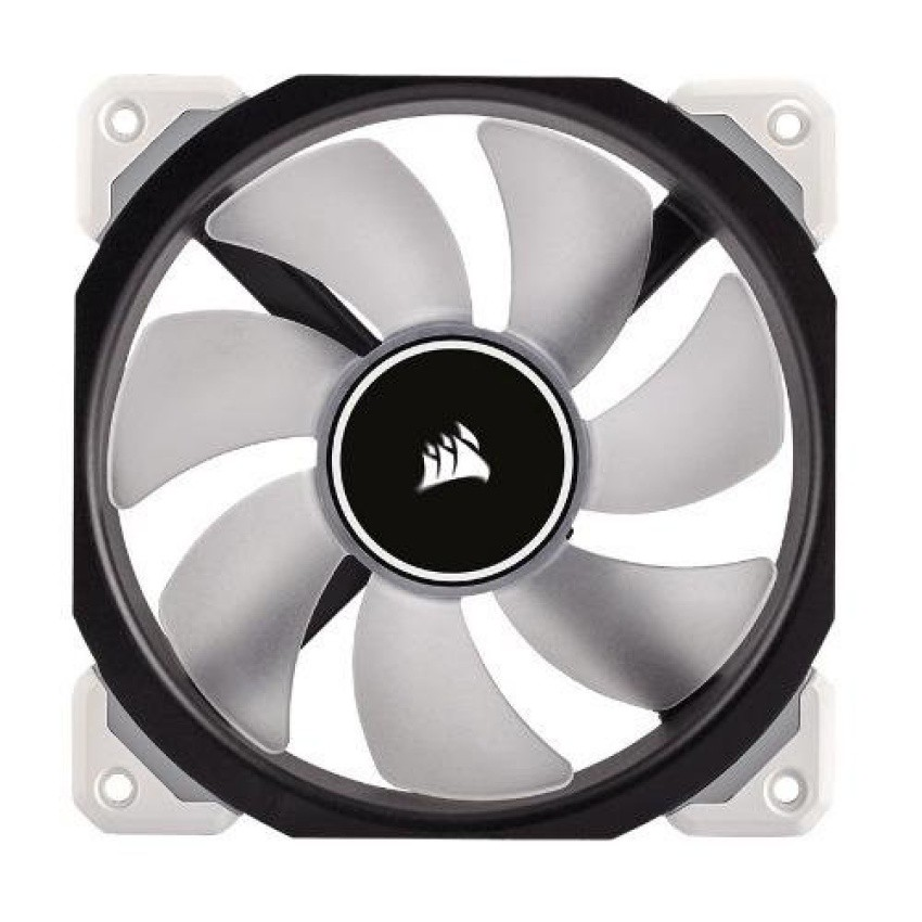 Corsair ML140 PRO LED White 140mm Premium Magnetic Levitation Fan ...