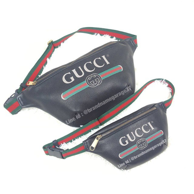 New Gucci belt bag sz90 ขนาดใหญ่ กระเป๋า pu