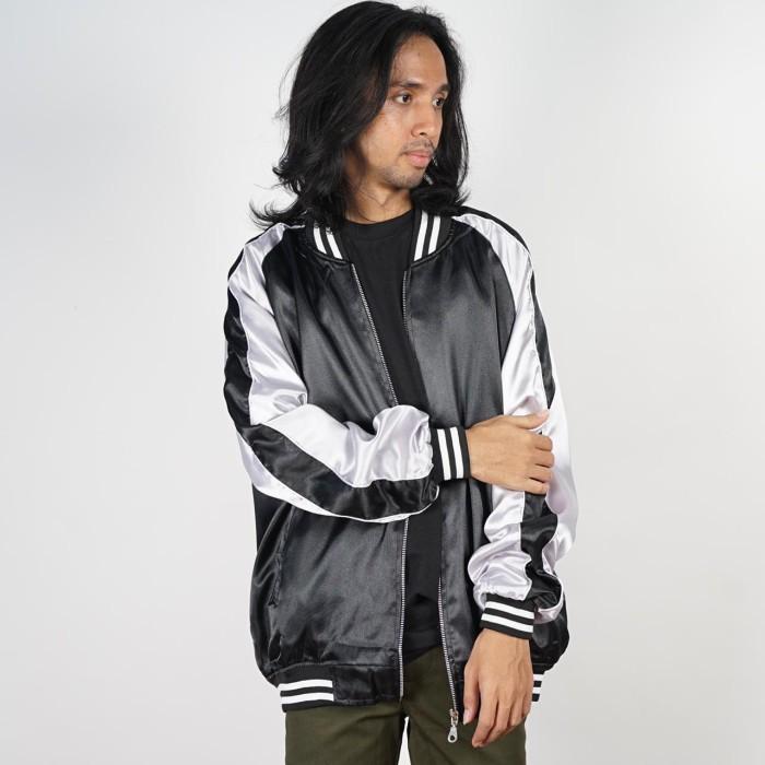 Adrenaline เสื้อแจ็คเก็ตมีฮู้ดลําลองสําหรับผู้ชาย Hodie Original Distro Jacket Sukajan B 85jlg