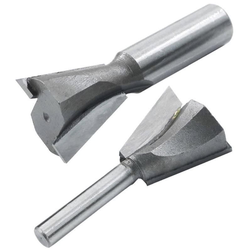มีดแกะสลัก เครื่องมือ แกะสลักงานไม้แฮนด์เมด Slotting นิ้วเครื่องตัดประกบช่องเครื่องกัดเครื่องกัดงานไม้เครื่องมือตัดแต่งเ