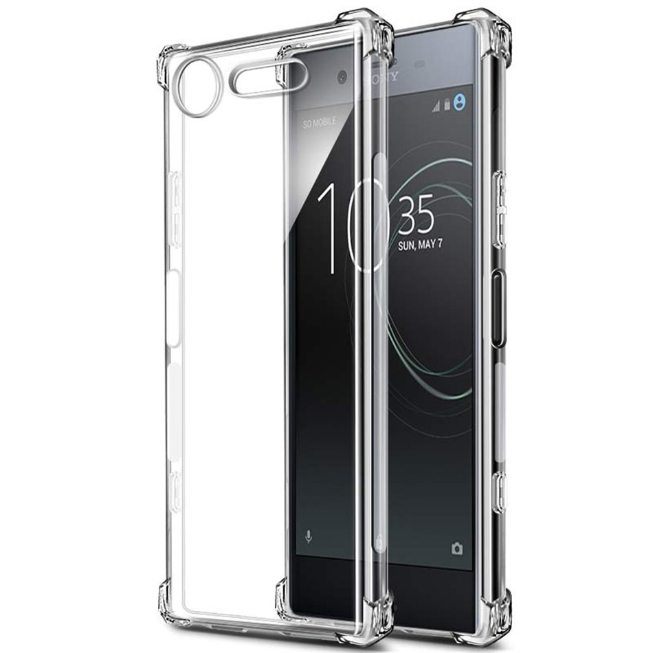 For Sony Xperia XZ XZs XZ1 XZ2 XA XA1 XA2 L1 L2 Compact Ultra Premium Crystal Clear Shockproof Soft