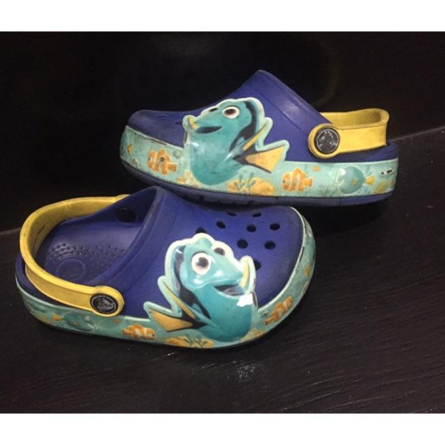 Crocs C8 รองเท้าเด็กมือสอง ของแทั