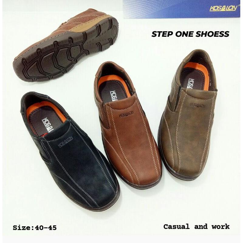 👞 รองเท้าคัชชูผู้ชายทรงสวย( หนังลายแจ็คกราด )