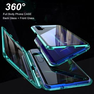 Review เคส Huawei Nova5T Full Body Case Huawei Nova 5T 3i 3e 4 4e 5i 5 Pro เคส Front + Back Double-sided Tempered Glass Case