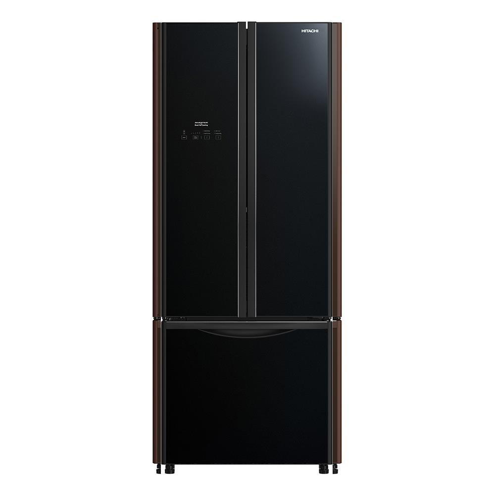 ตู้เย็น ตู้เย็น MULTI DOOR HITACHI RWB410PE GBK 14.6 คิว สีดำ ตู้เย็น ตู้แช่แข็ง เครื่องใช้ไฟฟ้า MULTI-DOOR REFRIGERATOR