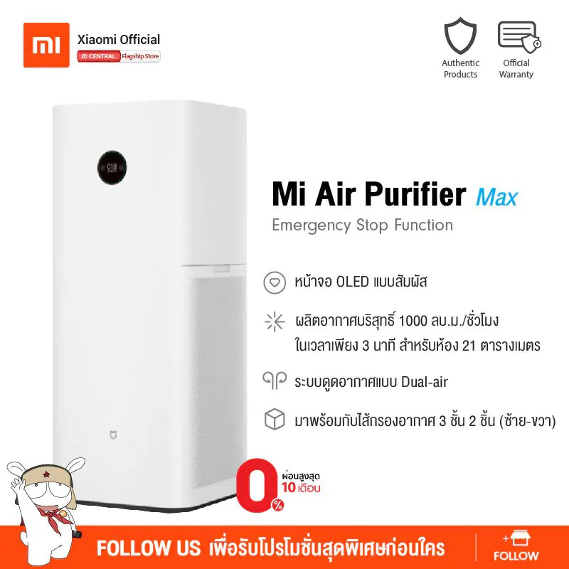 Mi Air Purifier Max - Global Version