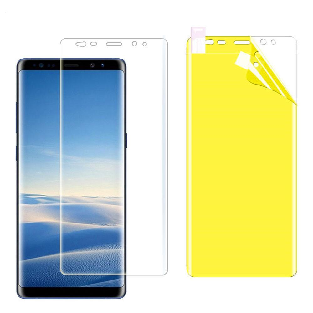 Review เคสโทรศัพท์มือถือสำหรับ Samsung Galaxy Note 9 8 7 5 Note 10 Plus / edge N9150 Screen Protector Hydrogel Protective Film