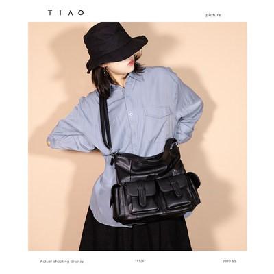 ✿☤กระเป๋ากีฬาผู้หญิงสะพายข้างTsjs 21กระเป๋าโท้ทสไตล์ญี่ปุ่นขนาดเล็กกระเป๋าใบใหญ่สีดำกระเป๋า Messenger เดินทางกีฬานักเรีย