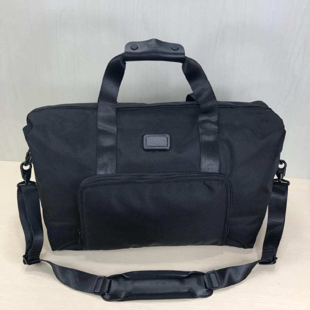 Tumi For 22159 D 2 กระเป๋าสะพายไหล่กระเป๋าถือผ้าไนล่อนเหมาะกับการพกพาเดินทาง