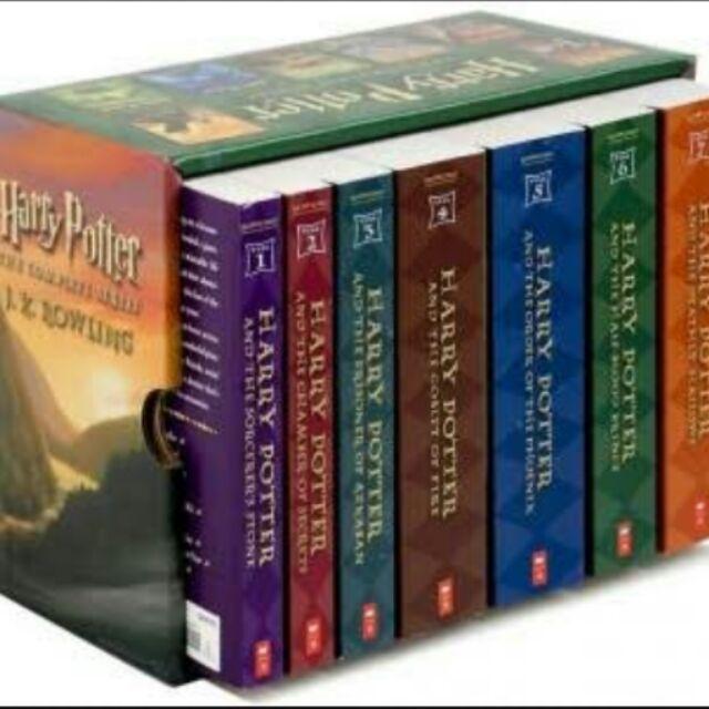Harry Potter Box Set (books1-7)