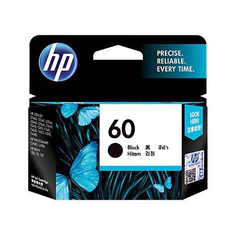 M40p HP 60 Black Original Ink Cartridge ( CC640WA) , For D1660/D1663/D2530/D2560/D2563/D2566/D2568/D2660/D5560/F2410/F24