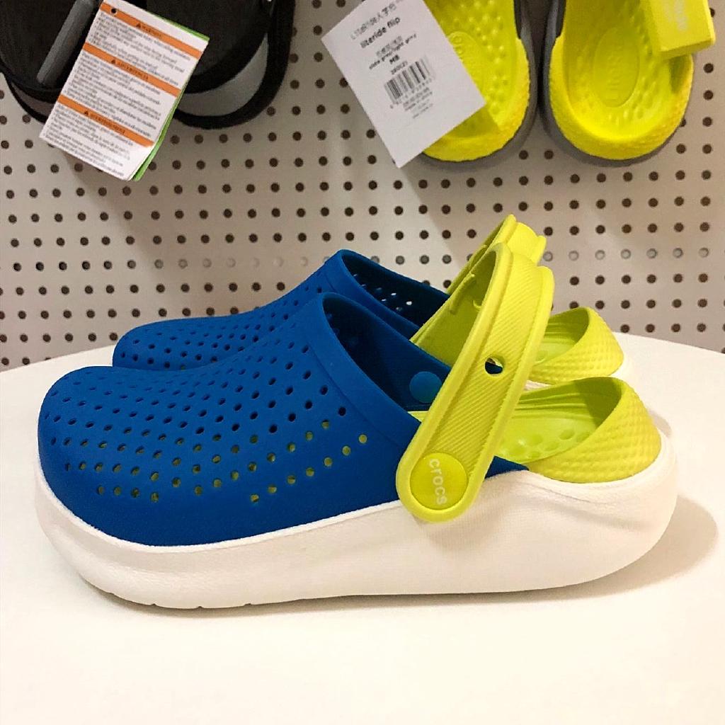 Crocs LiteRide รองเท้าชายหาด Clog แท้หิ้วนอกถูกกว่าร้านค้า