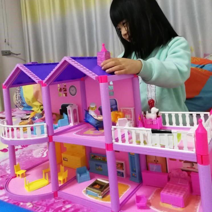 ชุดบ้านตุ๊กตาบาร์บี้ขนาดใหญ่