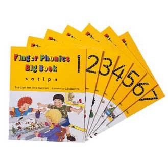 Finger Phonic Big Books set 1-7