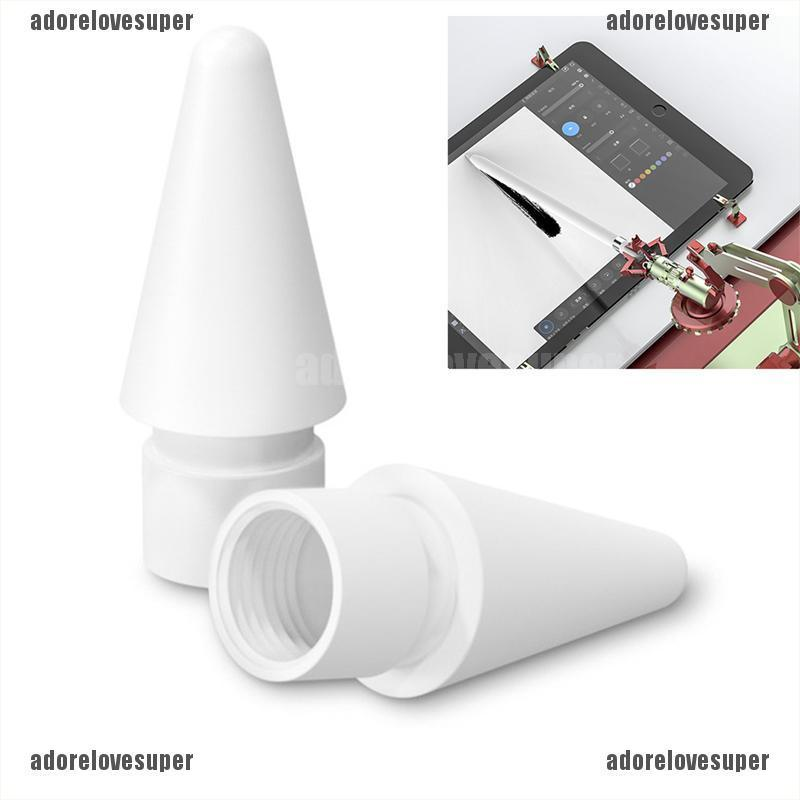 ( Adorelovesuper ) อะไหล่เปลี่ยนสําหรับ Apple Pencil 1st 2nd Generation Tip