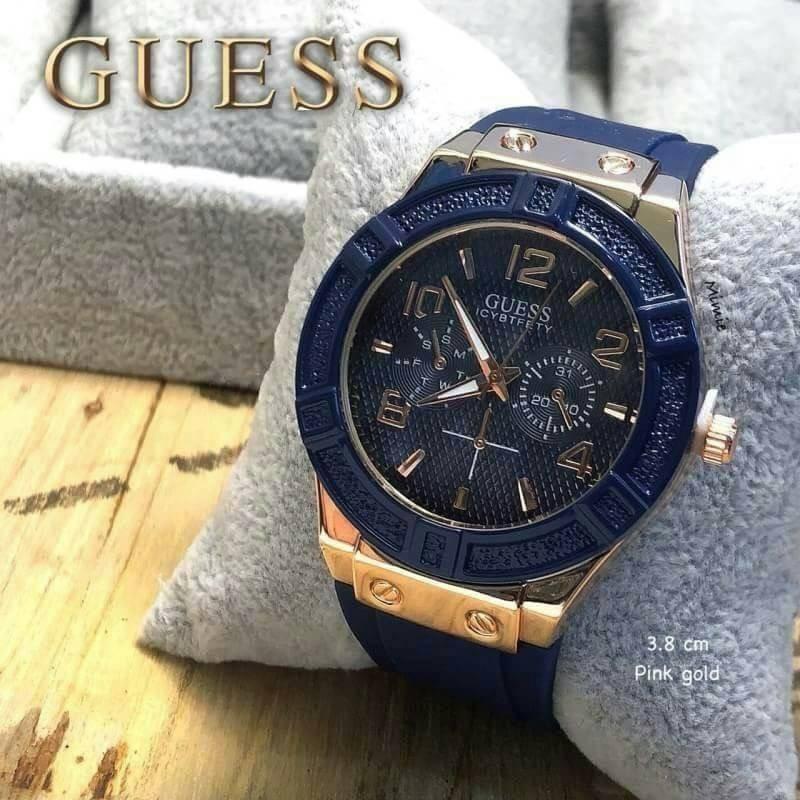 นาฬิกา Guess - Guess Watch นาฬิกาข้อมือผู้หญิง นาฬิกาแฟชั่น ขนาด 38 มม.  มีชำระเงินปลายทาง