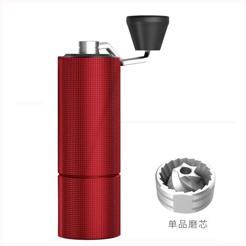 ส่งออกการค้าต่างประเทศQingfangทำย้อนยุคคู่มือปรับมือสั่นเครื่องบดผงเมล็ดกาแฟบดบด