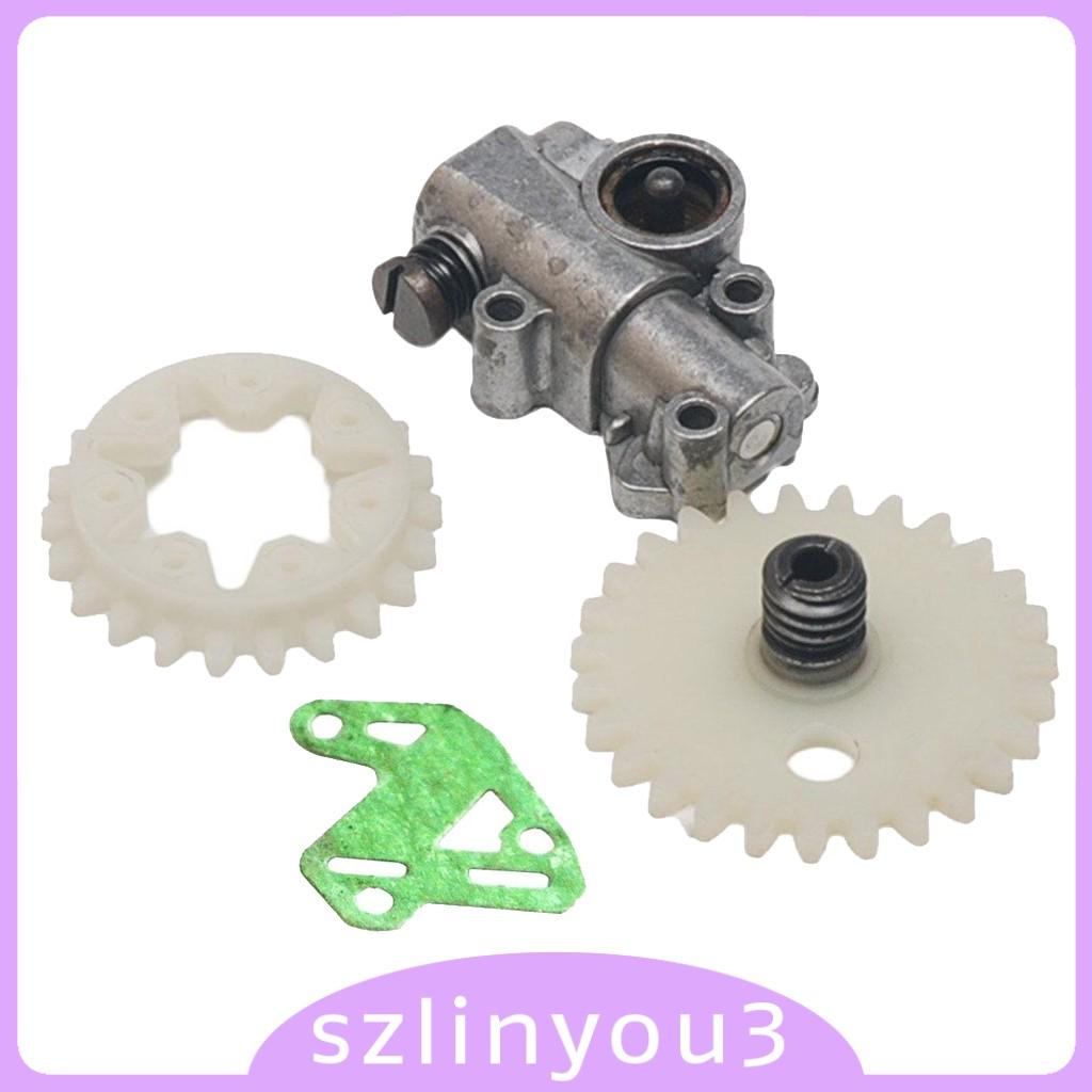 ชุดเครื่องมือเกียร์ปั๊มน้ํามันสําหรับ Stihl Ms028 038 048 380 381 Chainsaw